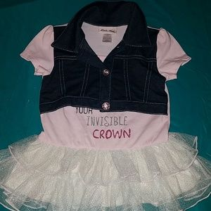 Little Lass 1pc dress n jacket.